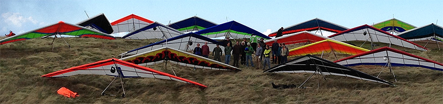 Picture of the Bay Area Hang Gliding crew.